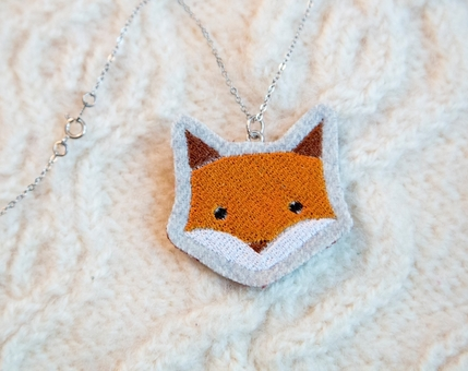 Fox Woodland Necklace No.3