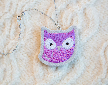 Owl Woodland Necklace No.1