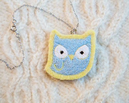Owl Woodland Necklace No.2
