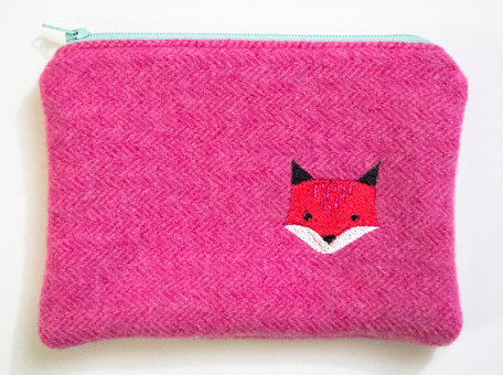 Fox 14 - Wooly Woodland Zipper Pouch