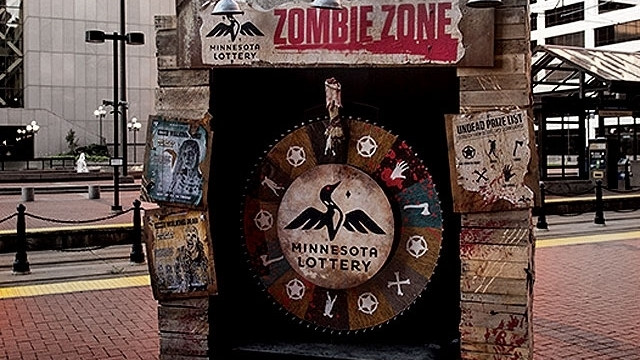 MN Lotto 'Zombie Shack'