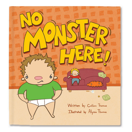 No Monster Here - Children's Picture Book