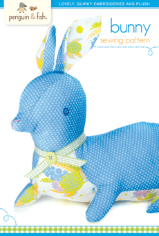Bunny Sewing Pattern - printable PDF file