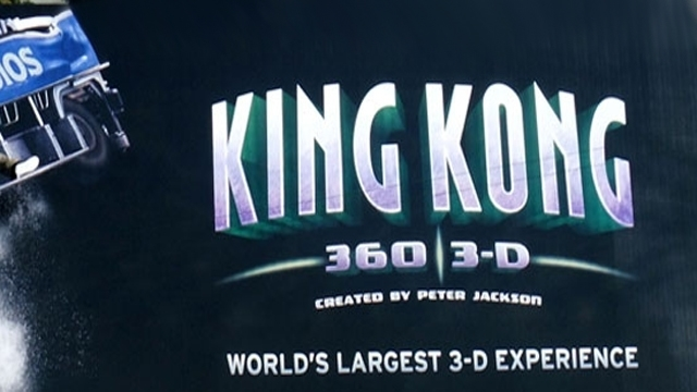 Universal Studios 'King Kong Billboard'