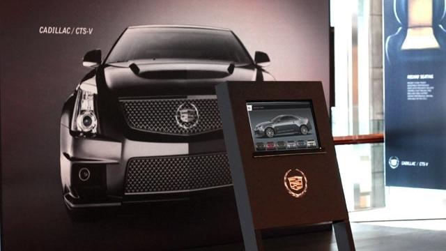 Cadillac 'CTS-V Kiosk'