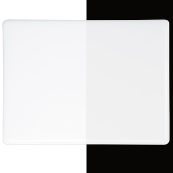 "Opaque White Sheet: 5""x5"""