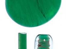NS-24: Northstar Transparent Green Rod 1 Piece