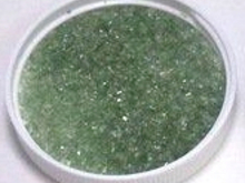 NSF24L: Northstar Transparent Green Frit Large 1/4lb