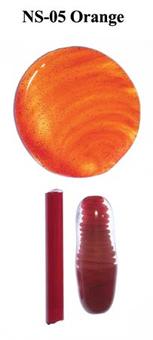 NS-05: Northstar Orange Transparent Rod 1 Piece