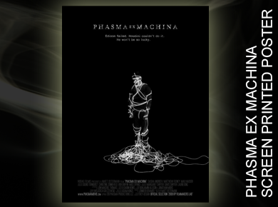 Phasma Ex Machina Screen Printed Poster